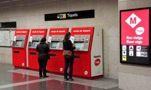 venta metro Barcelona
