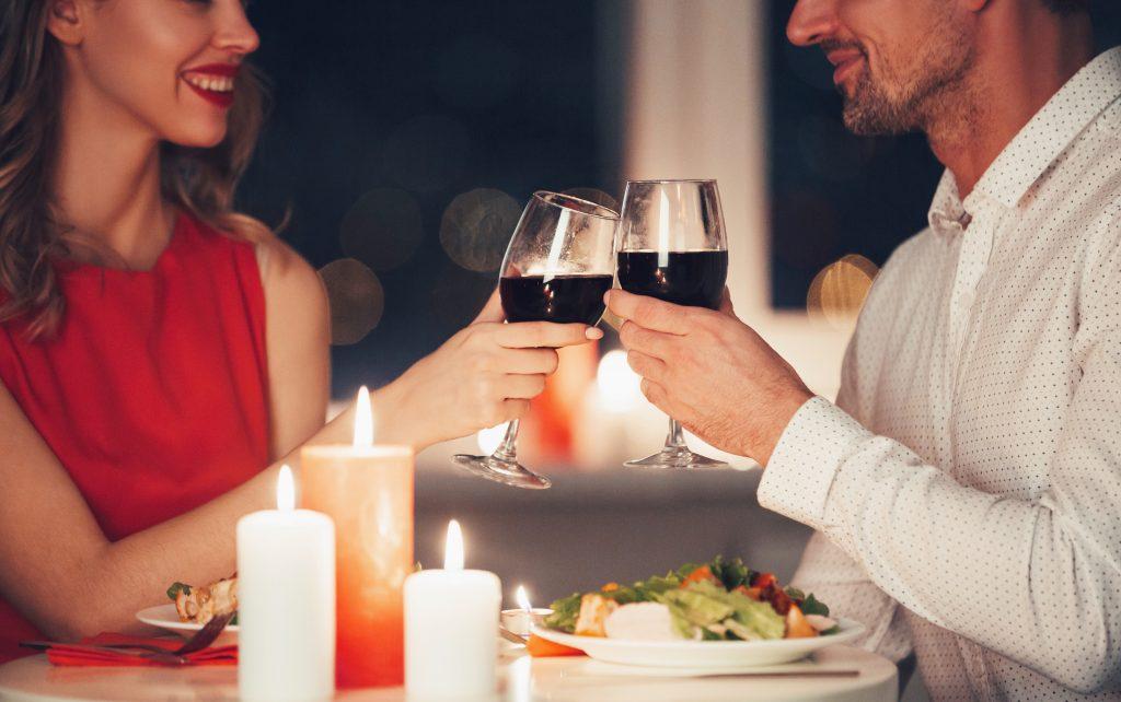 plan cena romántica