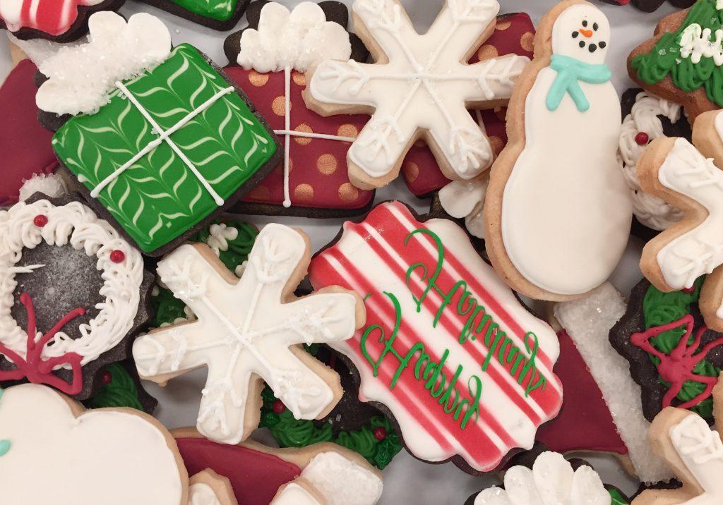 cocinar galletas Navidad en pareja