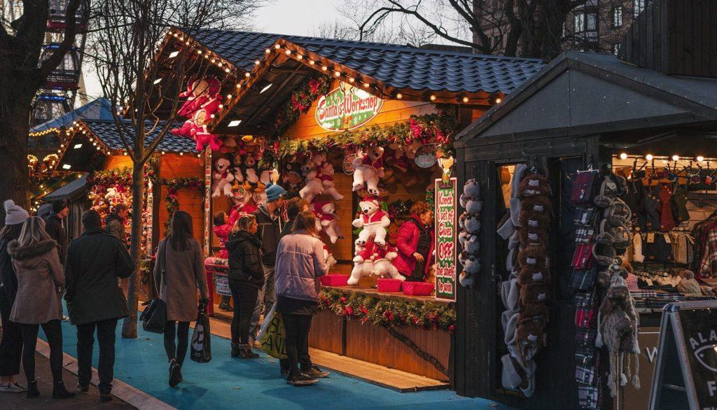 mercados de navidad Barcelona