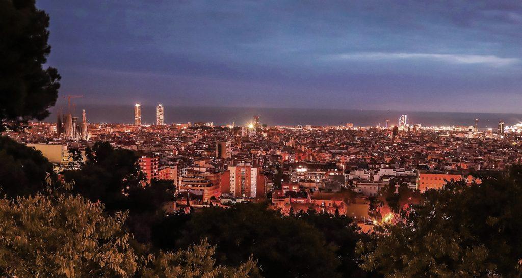 miradores Barcelona en pareja