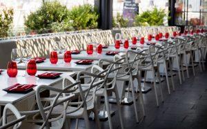 Terraza del restaurante Abrassame