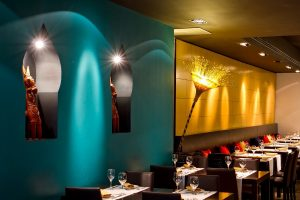 Interior del restaurante Bembi