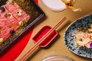 Comida Ikibana